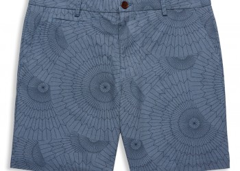 Navy Parachute Print Tailored Shorts - €99.90
