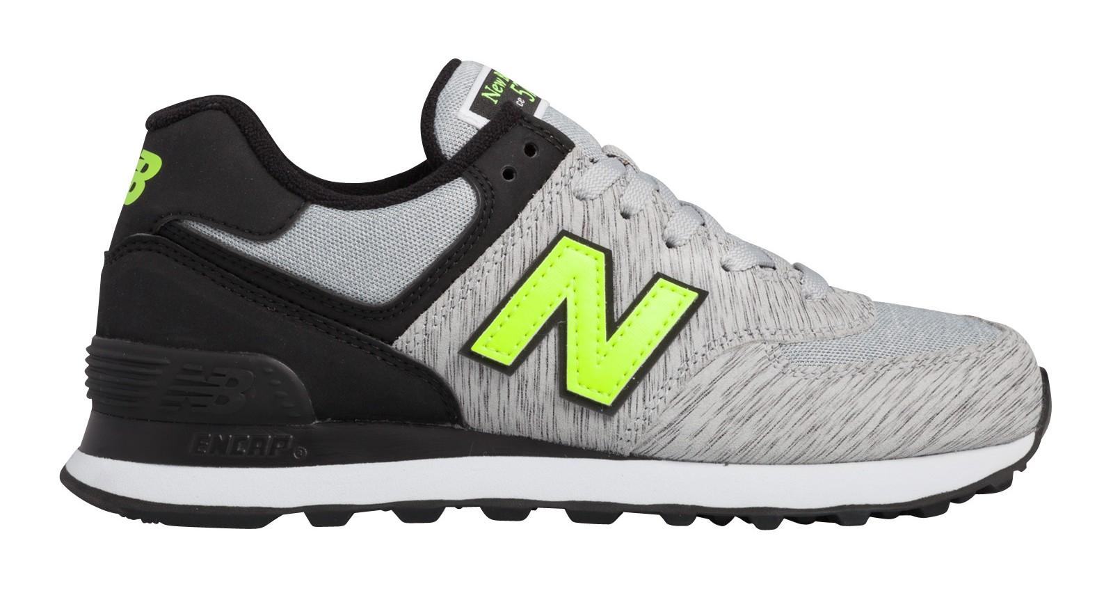new balance nb-574 gris fluo
