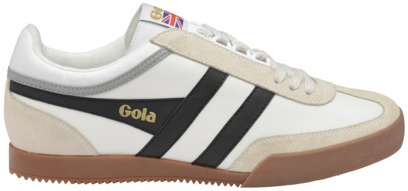 GOLA-SUPER HARRIER LEATHER WHT BLK