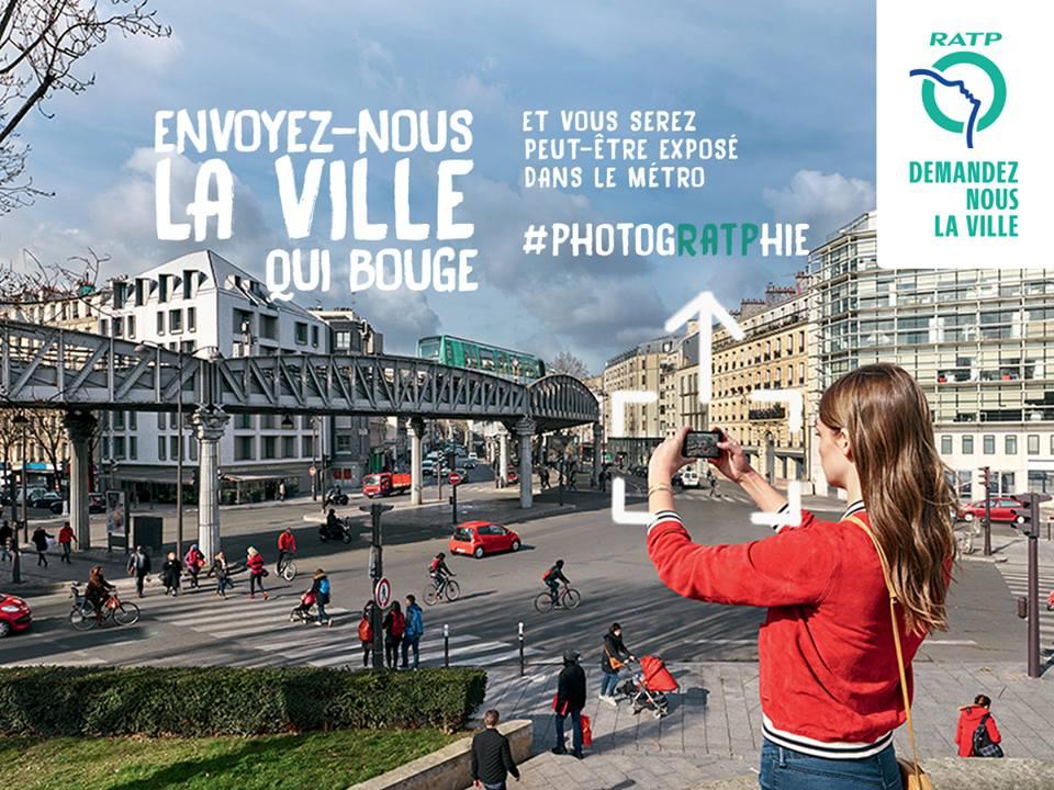 Campagne RATP #photogRATPhie 2