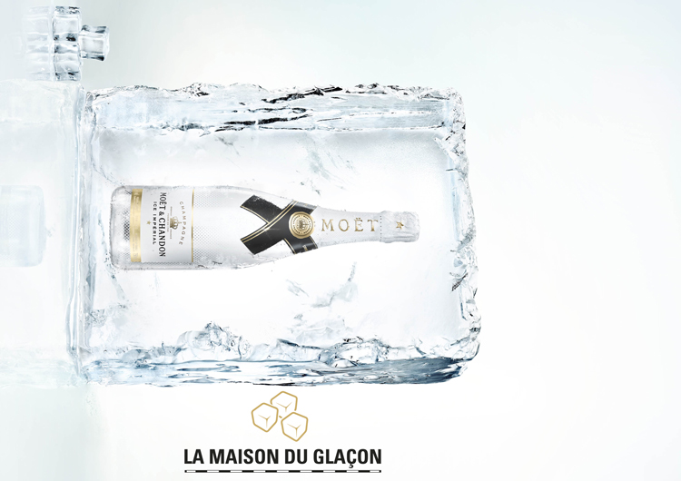 MOET ICE IMPERIAL MAISON DU GLACON LAPPOMS LIFESTYLE BLOG