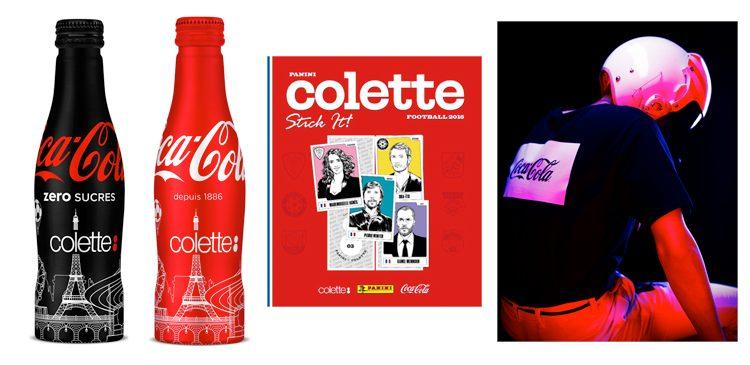 coca-cola colette uefa euro2016 collab panini #beentrill#