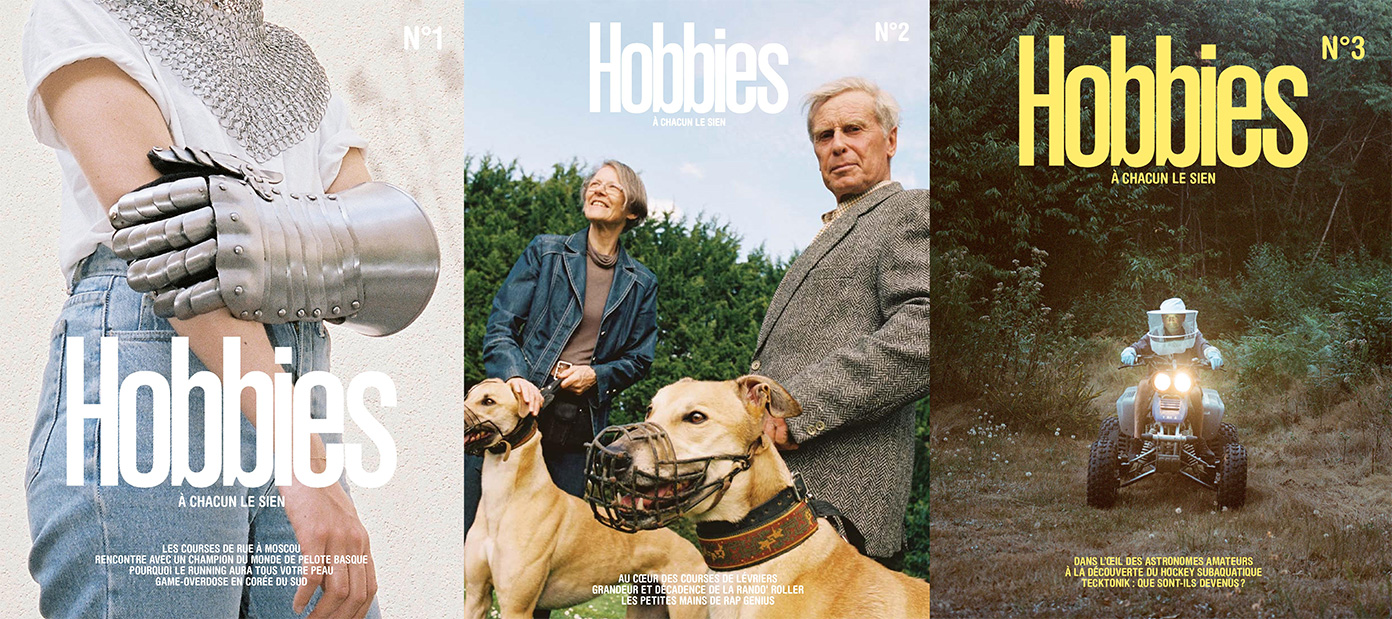 Couvertures Revue Hobbies lappoms lifestyle blog mook