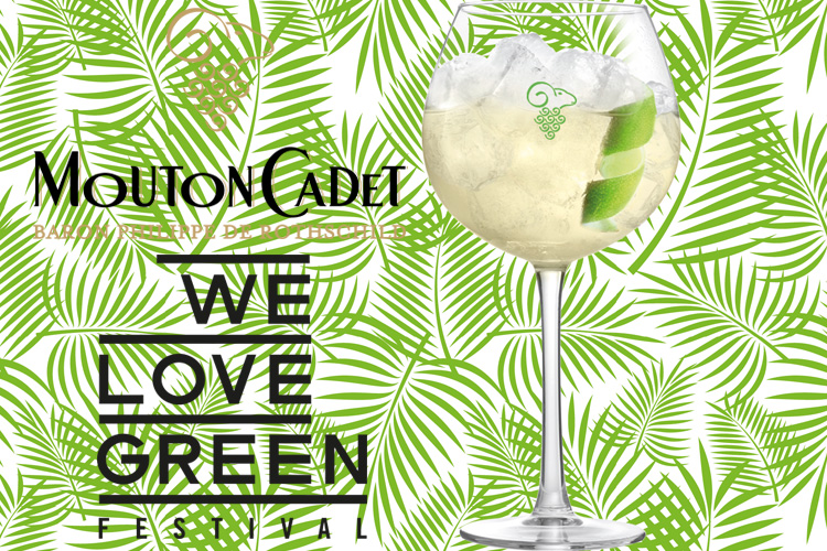 Green Cadet mouton Cadet cocktail we love green lappoms ifestyle blog
