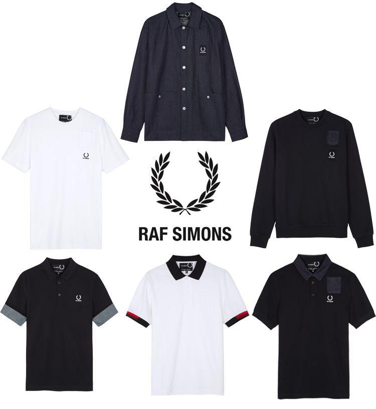 fred perry raf simons collab capsule collection lappoms lifestyle blog