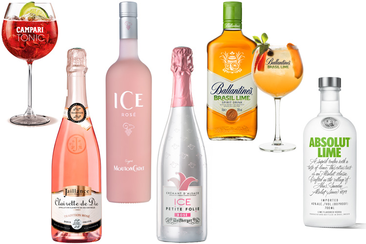 campari tonic jaillance clairette de die Ice folie wolfberger ballantines brasil michael landart absolut lime mouton cadet ice rosé lappoms lifestyle blog