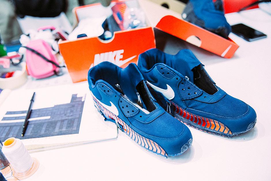 psg shoe gallery nike air max 90 paris saint-germain capsule collection lappoms lifestyle blog nike
