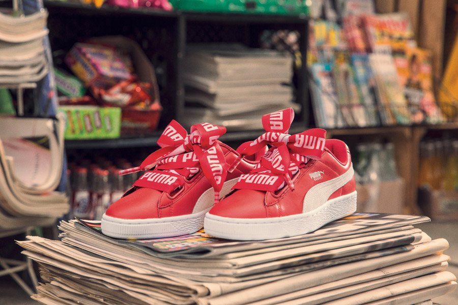 foot locker Puma Heart Cara Delevingne Laces lappoms lifestyle blog