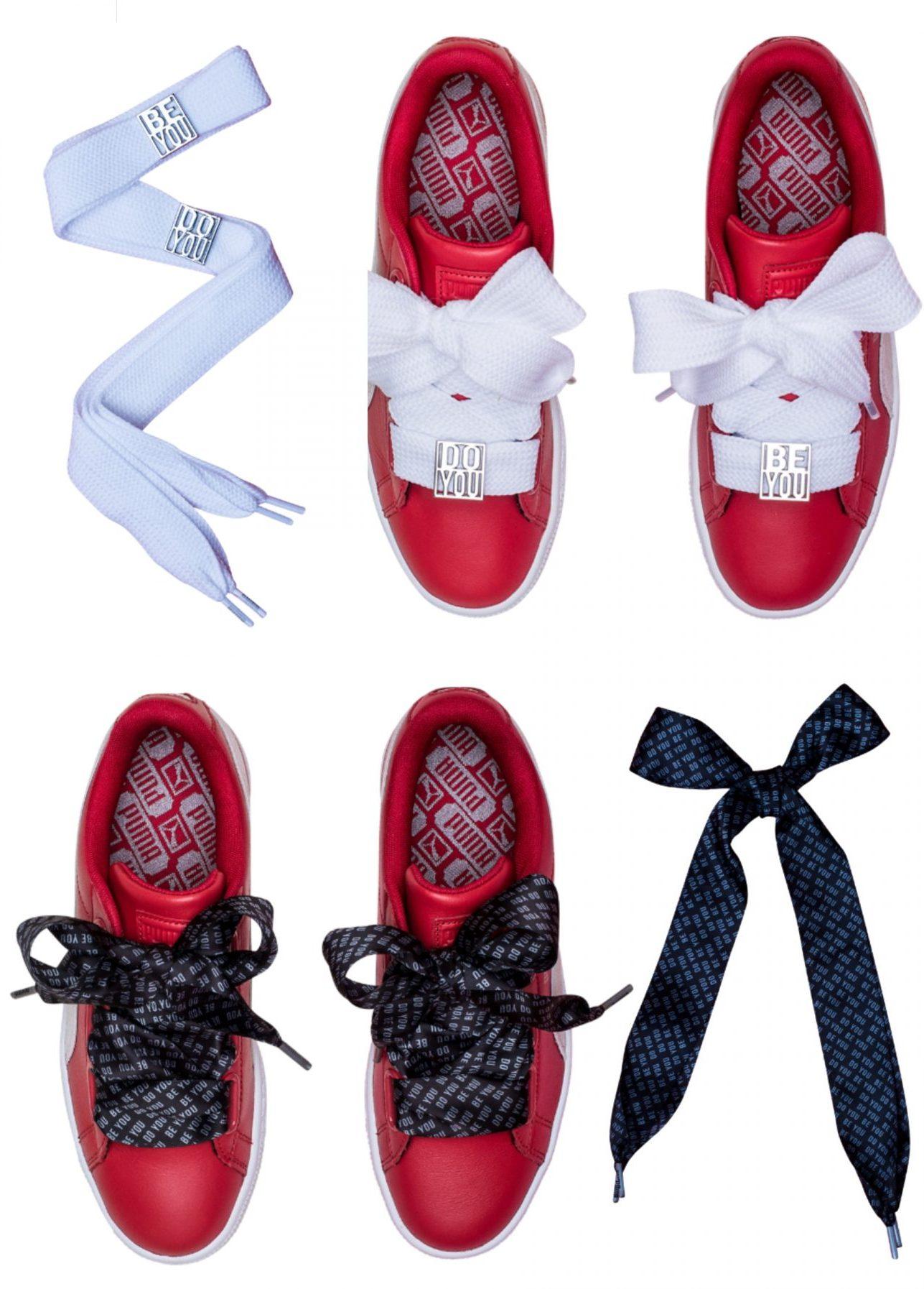 foot locker Puma Heart Cara Delevingne Laces lappoms lifestyle blog