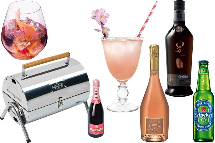 mary mail rosé sauvage piper heidsieck champagne cattier heineken Cointreau Fizz Genfliddich BBQ LAPPOMS lifestyle blog project XX