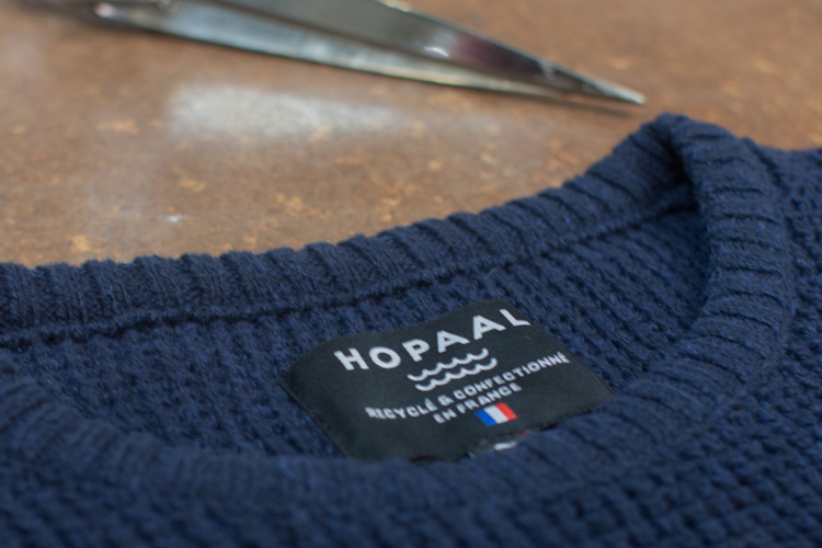 hopaal made in france pull du futur recyclé lappoms lifestyle blog start up