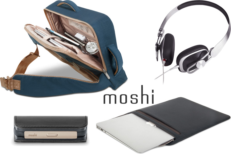moshi accessoires apple battery bank Venturo backpack lappoms lifestyle blog