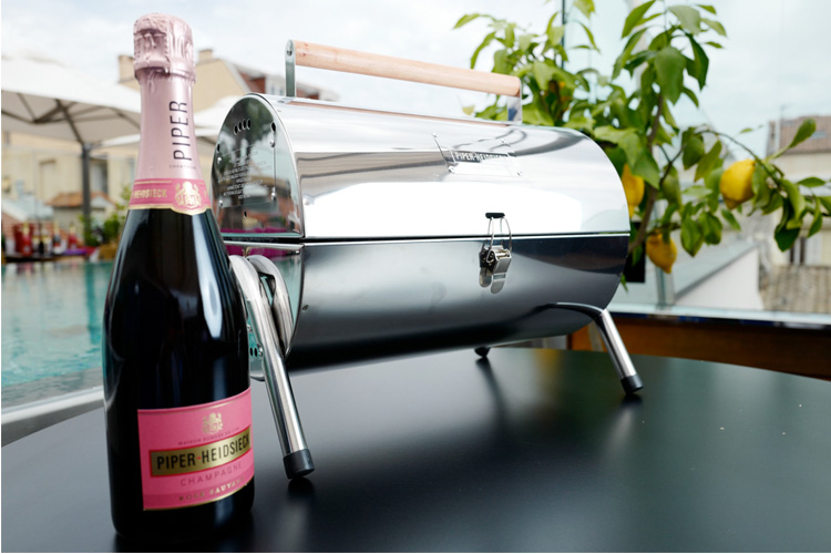 piper heidsieck champagne piper bbq made in france lifestyle blog lappoms