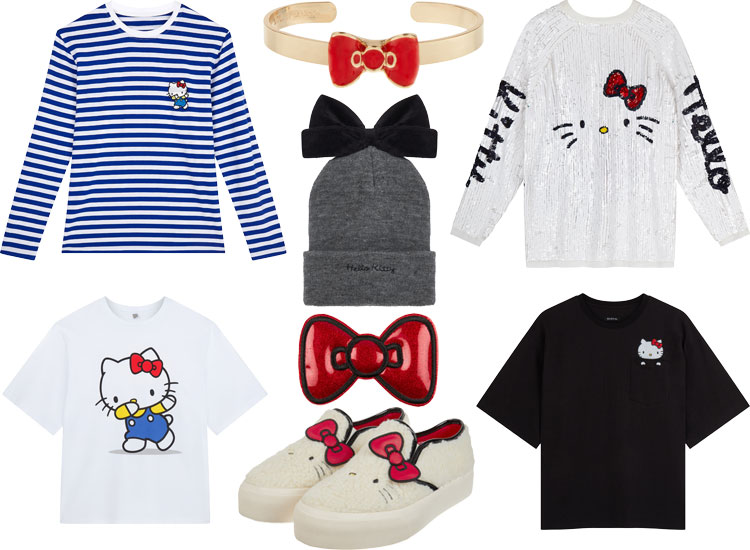 ASOS Hello Kitty collab lappoms lifestyle blog capsule collection