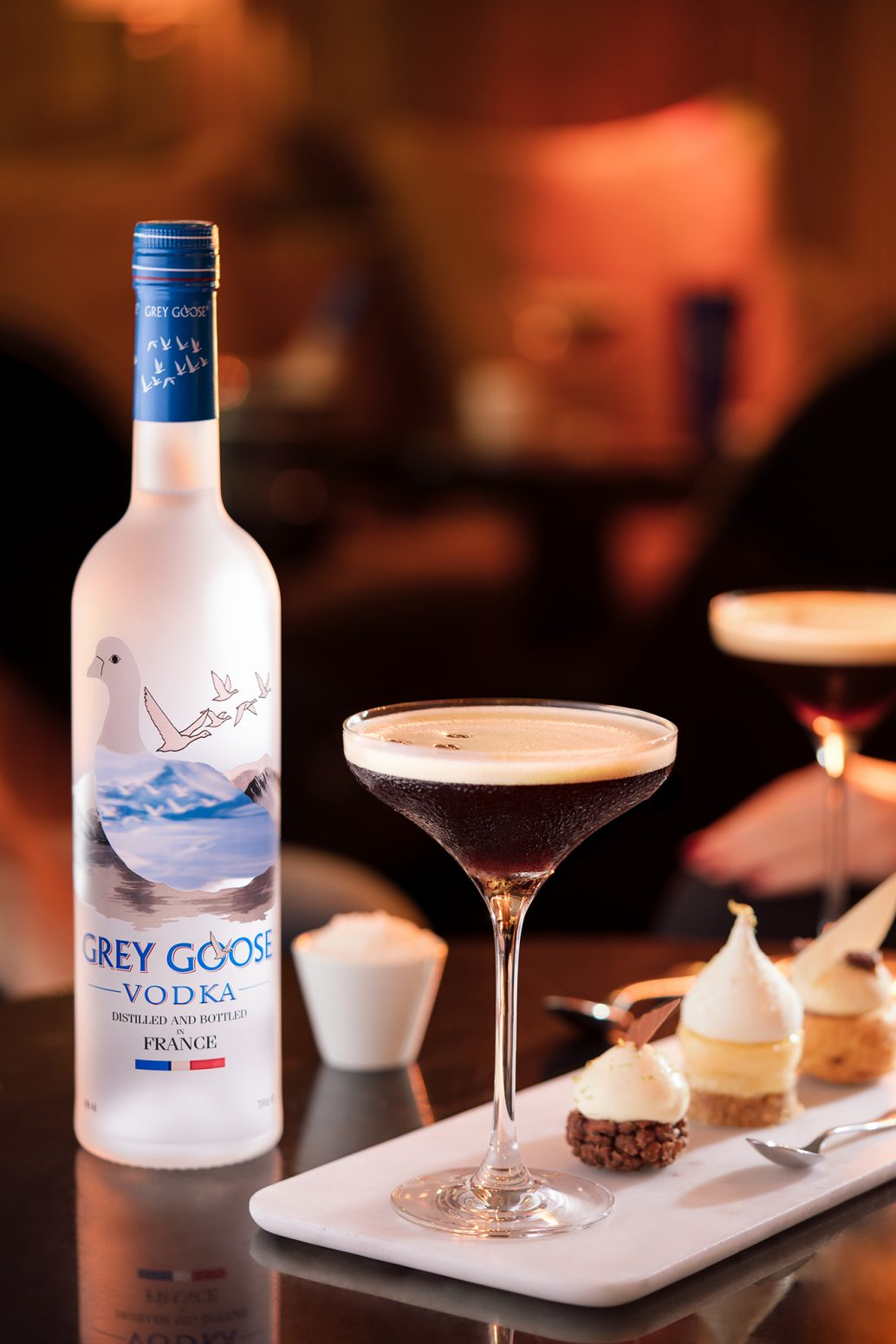 espresso martini grey goose cocktail yann menguy pastry lappoms lifestyle blog