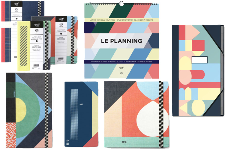 quo vadis papier tigre collab capsule collection planning agenda notebook lappoms lifestyle blog