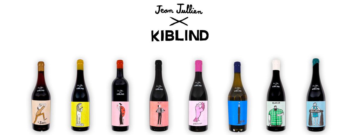 Panel © kiblind jean jullien collaboration edition limitee vins naturels lappoms lifestyle blog