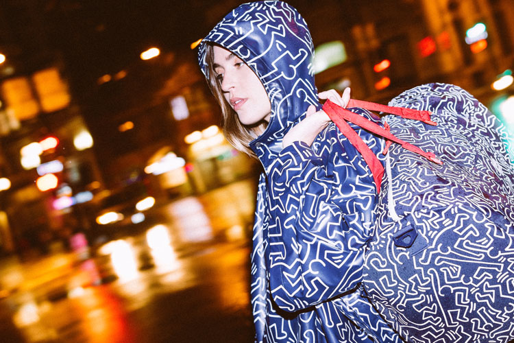 herschel keith haring collab capsule collection apparel lappoms lifestyle blog
