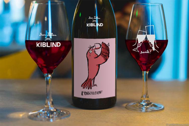 kiblind jean jullien collaboration edition limitee vins naturels lappoms lifestyle blog