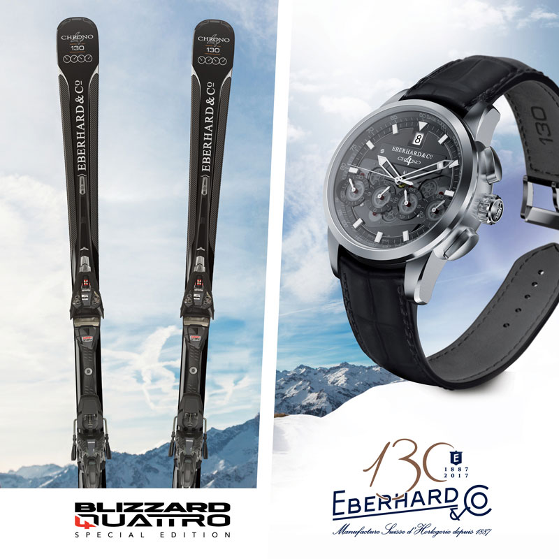 chrono 4 130 ski Eberhard & Co Blizzard 4 Quattro Limited Edition lappoms lifestyle blog