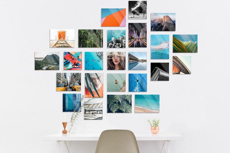 white wall impression photo hd acrylique bois calendrier lappoms lifestyle blog
