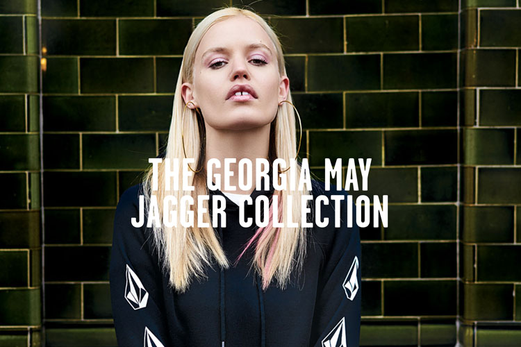 georgia may jagger collection volcom capsule collection lifestyle blog lappoms streetwear skatewear