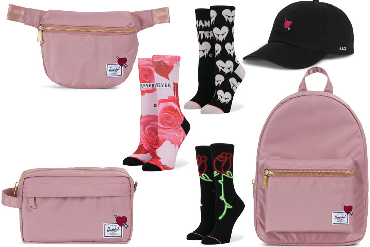 herschel supplies stance socks st valentin valentines collection capsule lappoms lifestyle blog