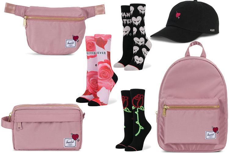 herschel supplies stance socks st valentin valentines collection capsule lappoms lifestyle blog