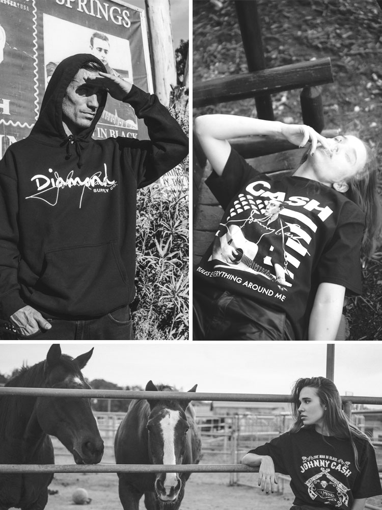 diamond supply johnny cash capsule collection lappoms lifestyle blog streetwear