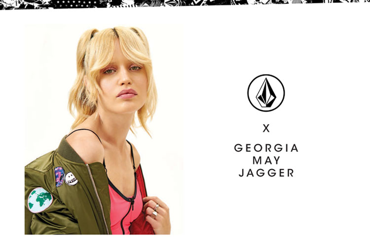 georgia may jagger volcom collab capsule collection ss18 lappoms lifestyle blog