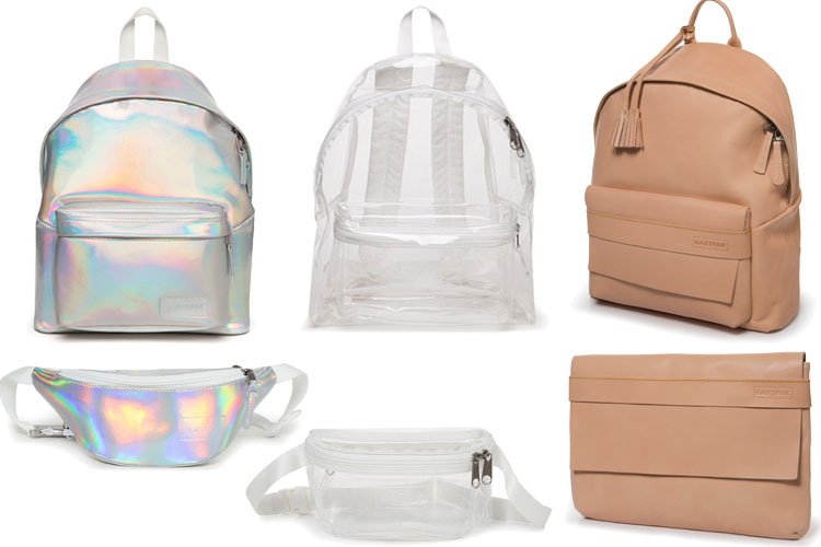 eastpak paper lab backpack ss18 lappoms lifestyle blog iridescent transparent natural lab