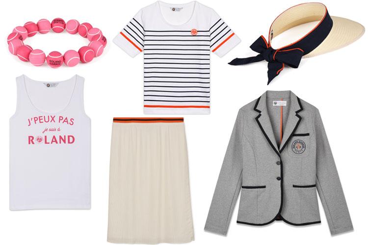 2018 jm weston roland garros mode femme merchandising capsule collection lappoms lifestyle blog