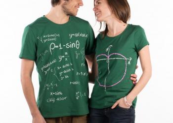 """Paire de T-shirts """"Cardoid"""" - 58€"""