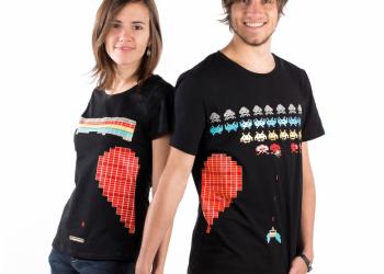 """Paire de T-shirts """"Geeky"""" - 58€"""