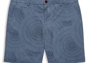 Navy Parachute Print Tailored Shorts - €99.90