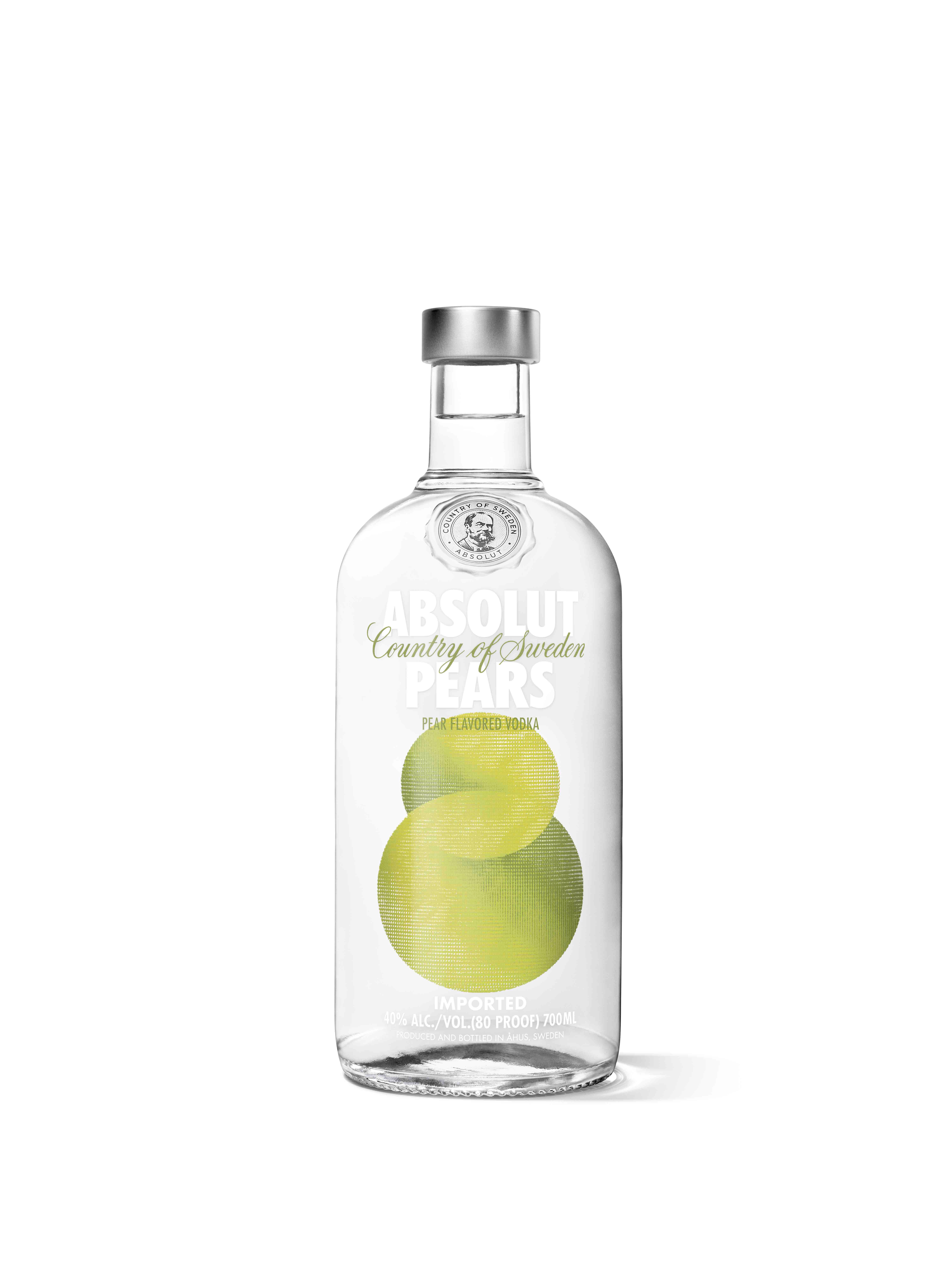 ABSOLUT+PEAR+PACK+SHOT+700ML+WHITE