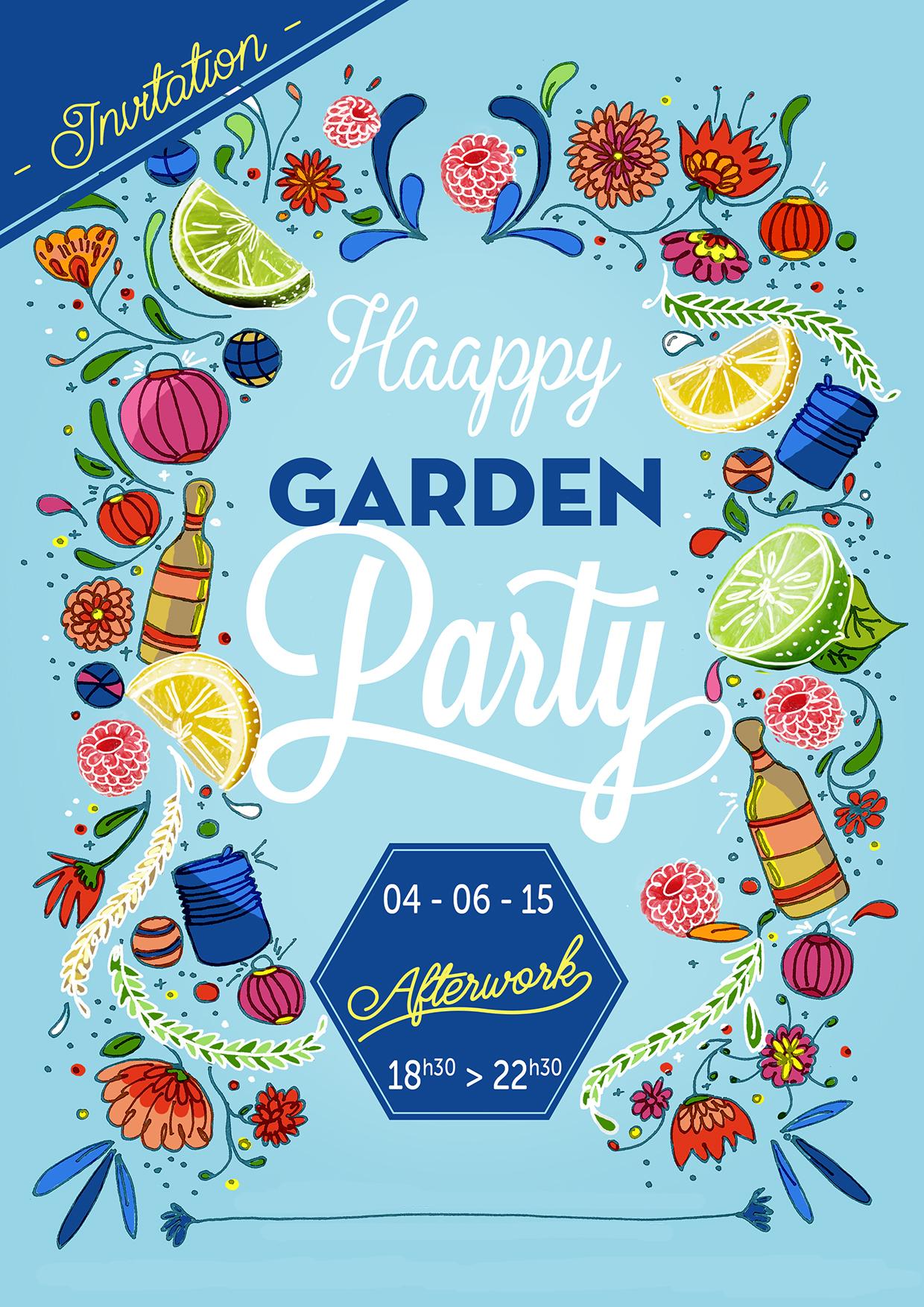 HAPPY GARDEN PARTY x 4 JUIN 2015 x CONCOURS - LAPPOMS