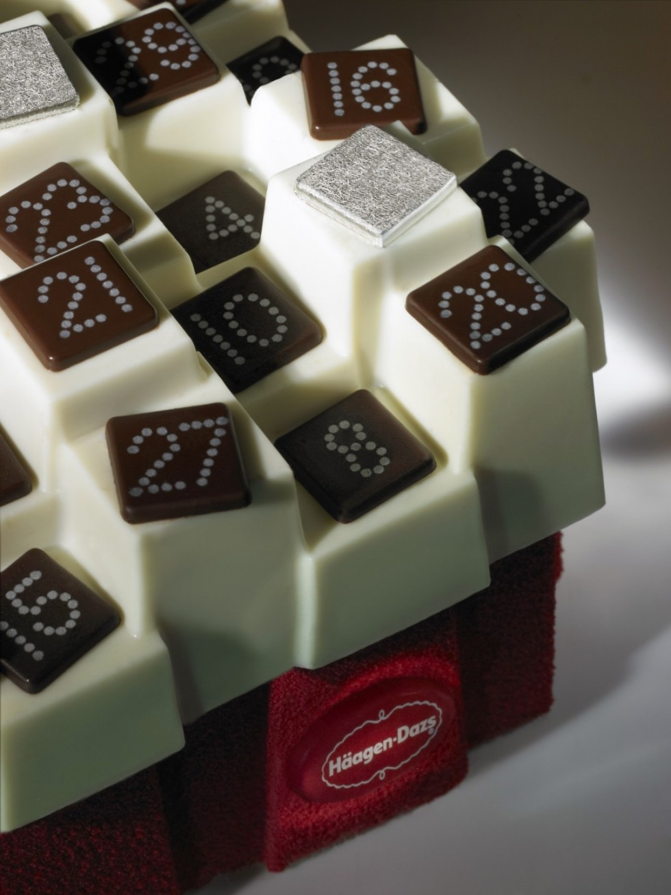 Haagen-Dazs - Le Calendrier by Paola Navone -