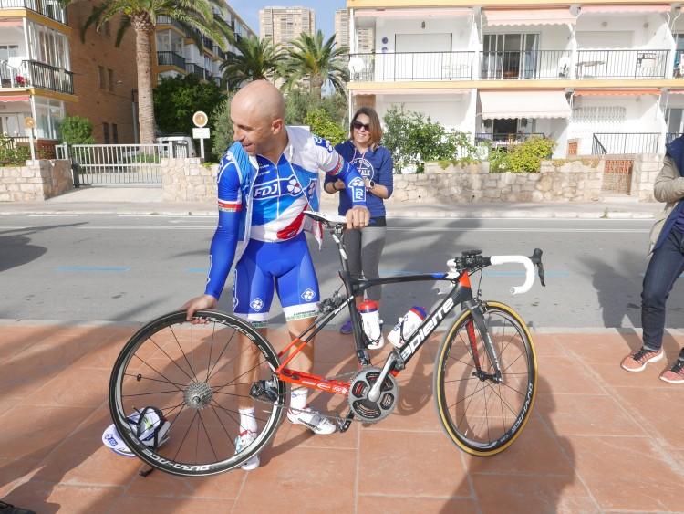 équipe fdj - cyclisme - calpé