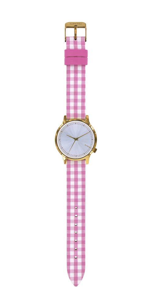 Komono Estelle Vichy Pink