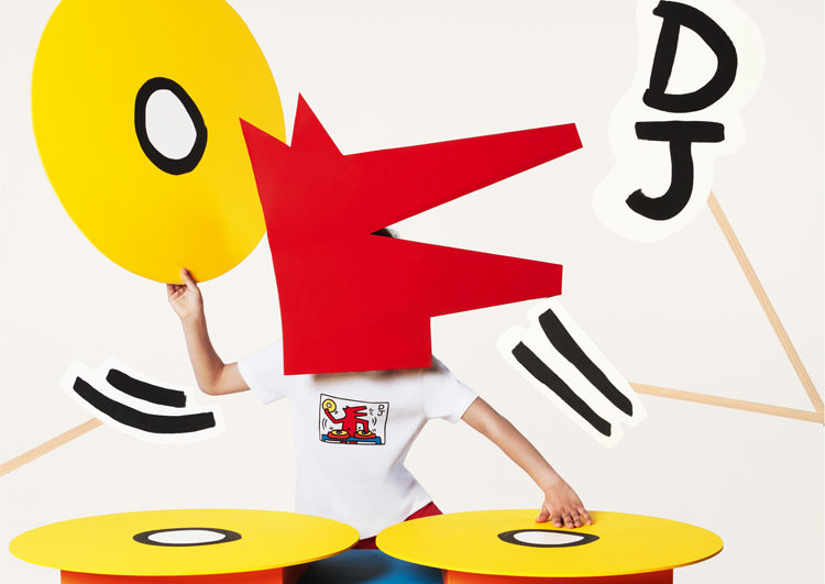 playlist petit bateau keith haring collab capsule collection