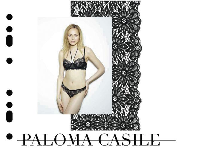 paloma casile underwear lingerie dentelle