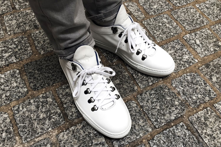 caulaincourt sneakers Tokyo white lappoms lifestyle blog shoes trends deluxe Patine