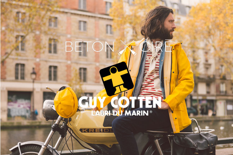 béton ciré guy cotten collab capsule collection miki made in france lappoms lifestyle blog