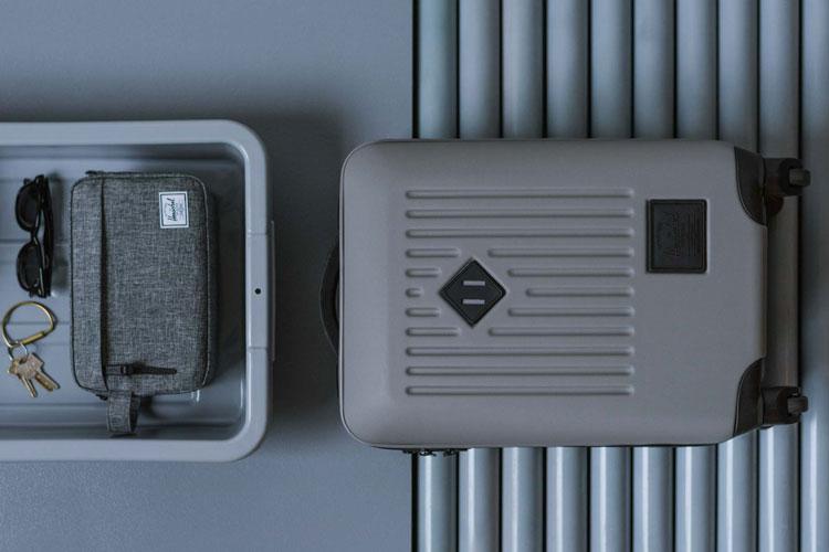 herschel travel collection bagage valise voyage lappoms lifestyle blog