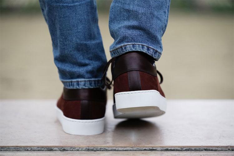 paire & fils sneakers nubuck daim le jeune aguerri lappoms lifestyle blog