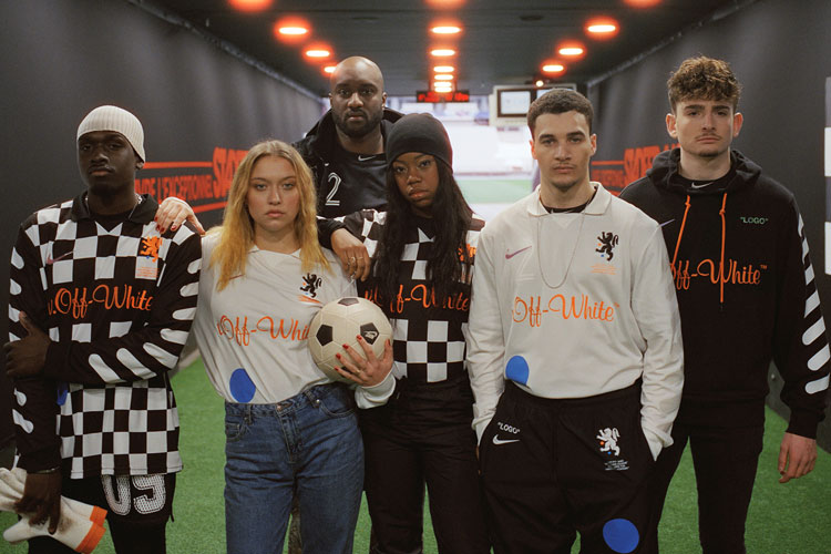FOOTBALL NIKELAB KIM JONES VIRGIL ABLOH ON THE ROAD TO THE WORLD CUP LAPPOMS LIFESTYLE BLOG COLLAB