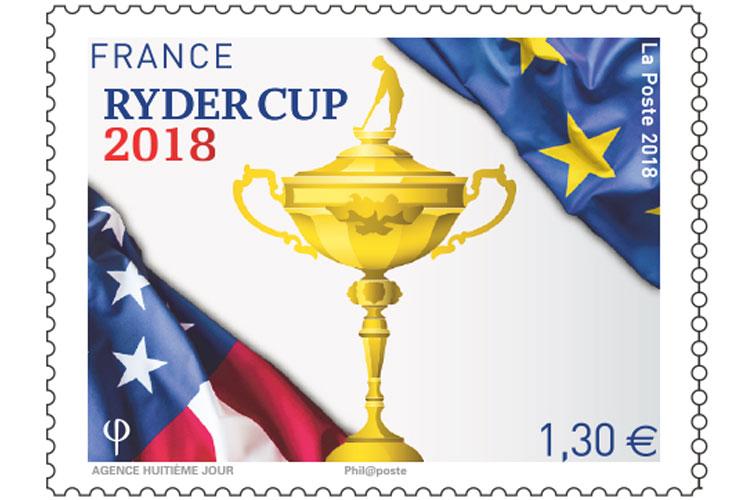 ryder cup 2018 la poste timbre federation francaise de golf lappoms lifestyle blog huitieme jour agence