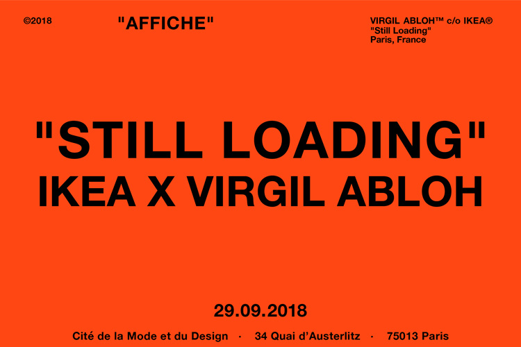 IKEA VIRGIL ABLOH STILL LOADING 29 09 18 LAPPOMS LIFESTYLE BLOG