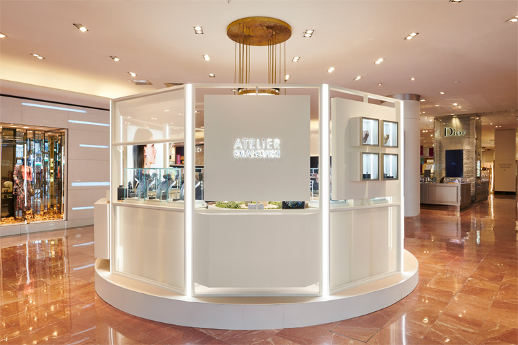 ATELIER SWAROVSKI POP UP CONSCIOUS LUXURY GALERIES LAFAYETTE GO FOR GOOD LAPPOMS LIFESTYLE BLOG
